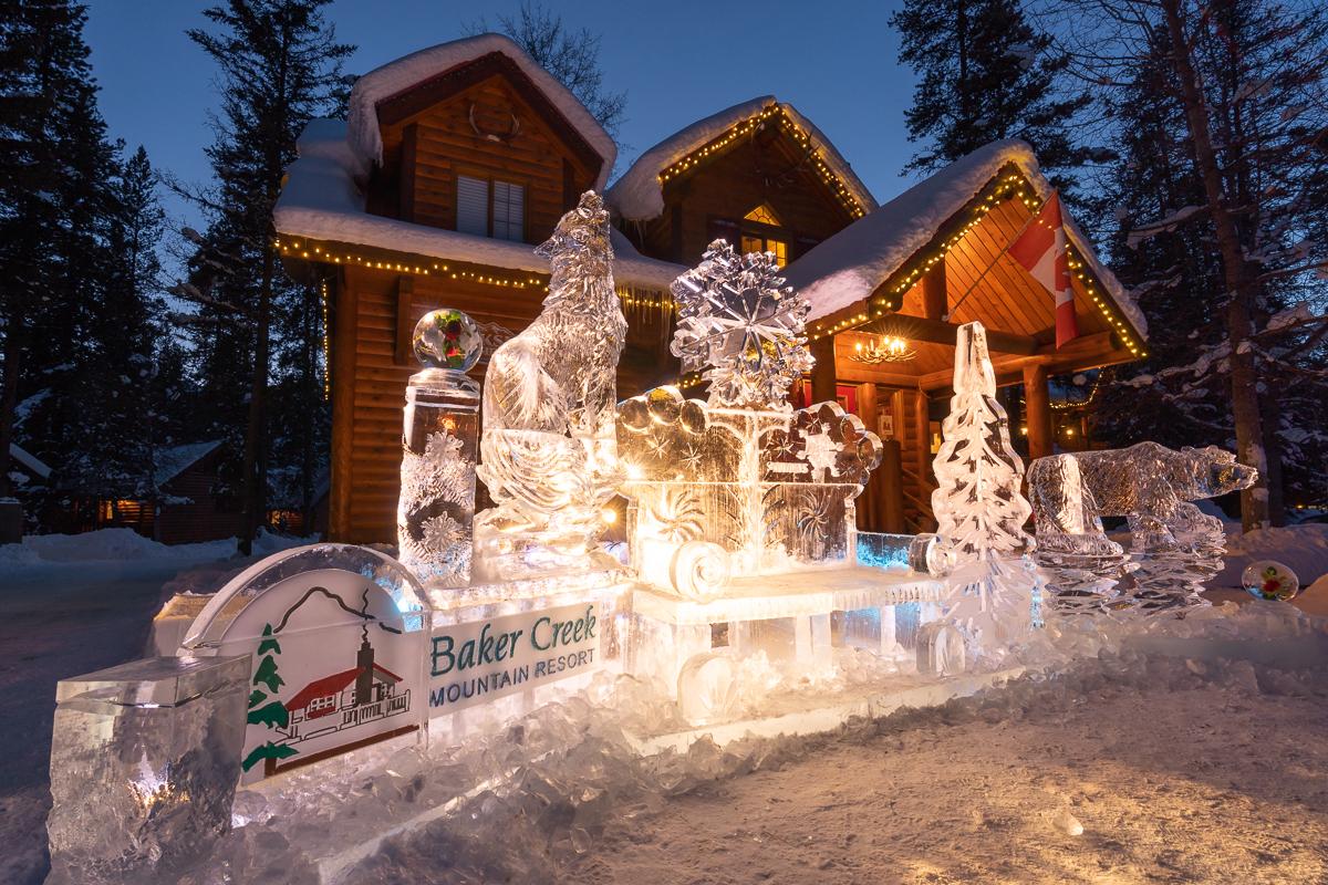 Baker Creek  Mountain Resort, Skiing Lake Louise